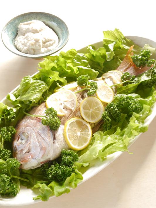 白身魚の松の実ソースP1310069